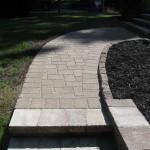 damaged steps and paver job 009