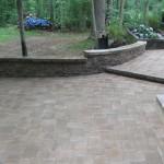 damaged steps and paver job 015