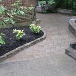 damaged steps and paver job 021